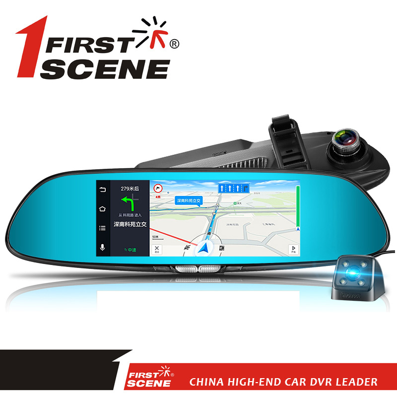 FIRSTSCENE LX55 MIRROR GPS DVR